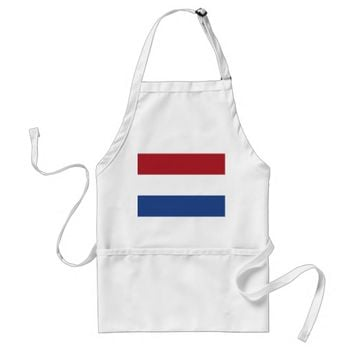 Apron with Flag of Netherlands
