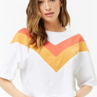 Chevron Cotton Tee