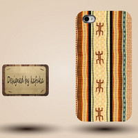 iphone case, i phone 4 4s 5 5s case, iphone4 iphone4s iphone5 case, plastic rubber silicone cases cover,brown yellow geometric p1150