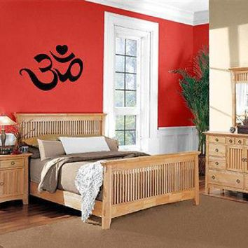 Yoga Symbol Om Spiritual Sanskrit Sound Wall Decor Mural Vinyl Art Sticker Unique Gift M545