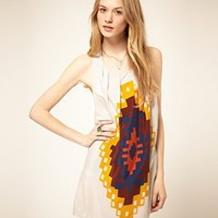 Vero Moda | Vero Moda Dress With Tribal Print at ASOS