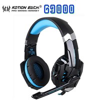 Kotion each G9000 gaming headset gaming headset with 3.5mm Mic Led Laptop Tablet / PS4 / Mobile phones