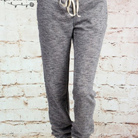 Cozy Weekend Joggers - Charcoal or Oatmeal (Ladies)