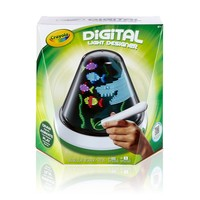 Crayola Digital Light-Designer Spinning Light Canvas