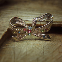 Ribbon Bow Brooch #5253