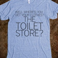 Anchorman: TOILET STORE - Glam Tops