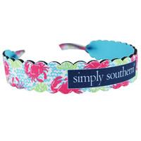 Simply Southern Sunglasses Holder - Crabs