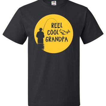 Reel Cool Grandpa Fishing Shirt