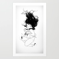 Plunge Art Print by STUDIO KILLERS