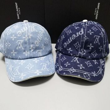 LV Denim Baseball cap