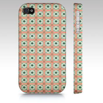Matryoshka Doll -  Ethnic Iphone, Samsung Galaxy S3 & S4 Case - Zig Zag, tech, apple, iPhone 5, iPhone 4s, SIII, peach, mint, boho, bohemian