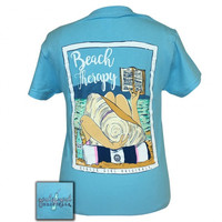 Girlie Girl Originals Preppy Beach Therapy T-Shirt