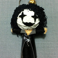 The Crow Film Movie String Voodoo Doll Keyring Keychain cartoon Key Ring Key Chain Iphone samsung handmade funny Bag Car