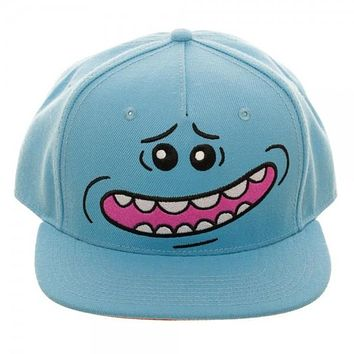 Rick & Morty Mr. Meeseeks Face Hat