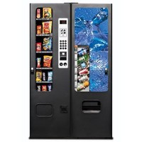 Selectivend 14 Snack and Cold Drink Combo Vending Machine Set