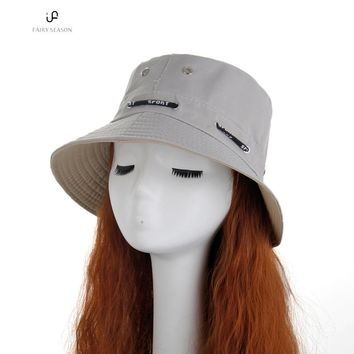 VIN Beauty Fashion Cool Fashion Unisex Hats Cotton Adult Golf Bucket Hat Fisher Cap Tennis Outdoor Sun Hat