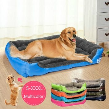 Cute Pets Small Large Warm Cats Puppy Dogs Beds Kennel Matt Pads(S-3 XL 8 colors)     123-LP1063_FZ1