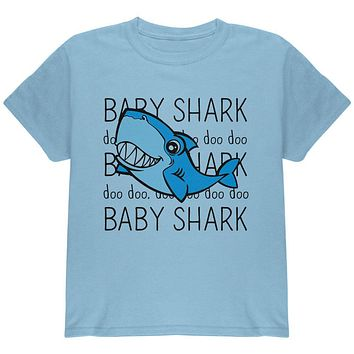 Baby Shark Cute Silly Youth T Shirt