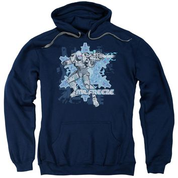 Batman - Mr Freeze Adult Pull Over Hoodie