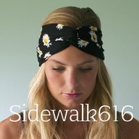 Daisy Headband Turban