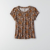 AEO Soft & Sexy Tomgirl T-Shirt, Multi