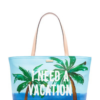 Kate Spade New York Breath of Fresh Air I Need a Vacation Francis