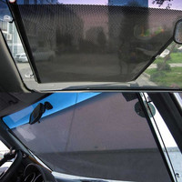 Car Rear Back Window Sunscreen Sun Shade Visor Cover Mesh Shield 47 x 36cm D_L = 1713117444