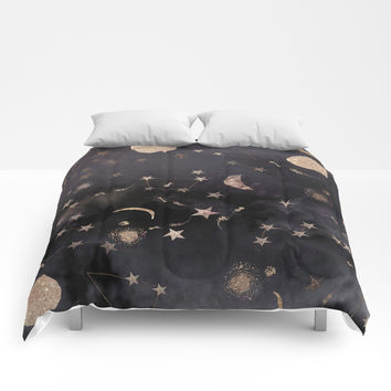 Constellations Comforters by nikkistrange