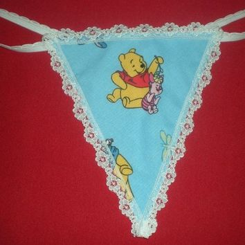 81496e714aeb Womens WINNIE THE POOH G-String Thong from pmtreasurechest on