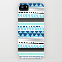 tribal print iPhone & iPod Case by Kai Gee