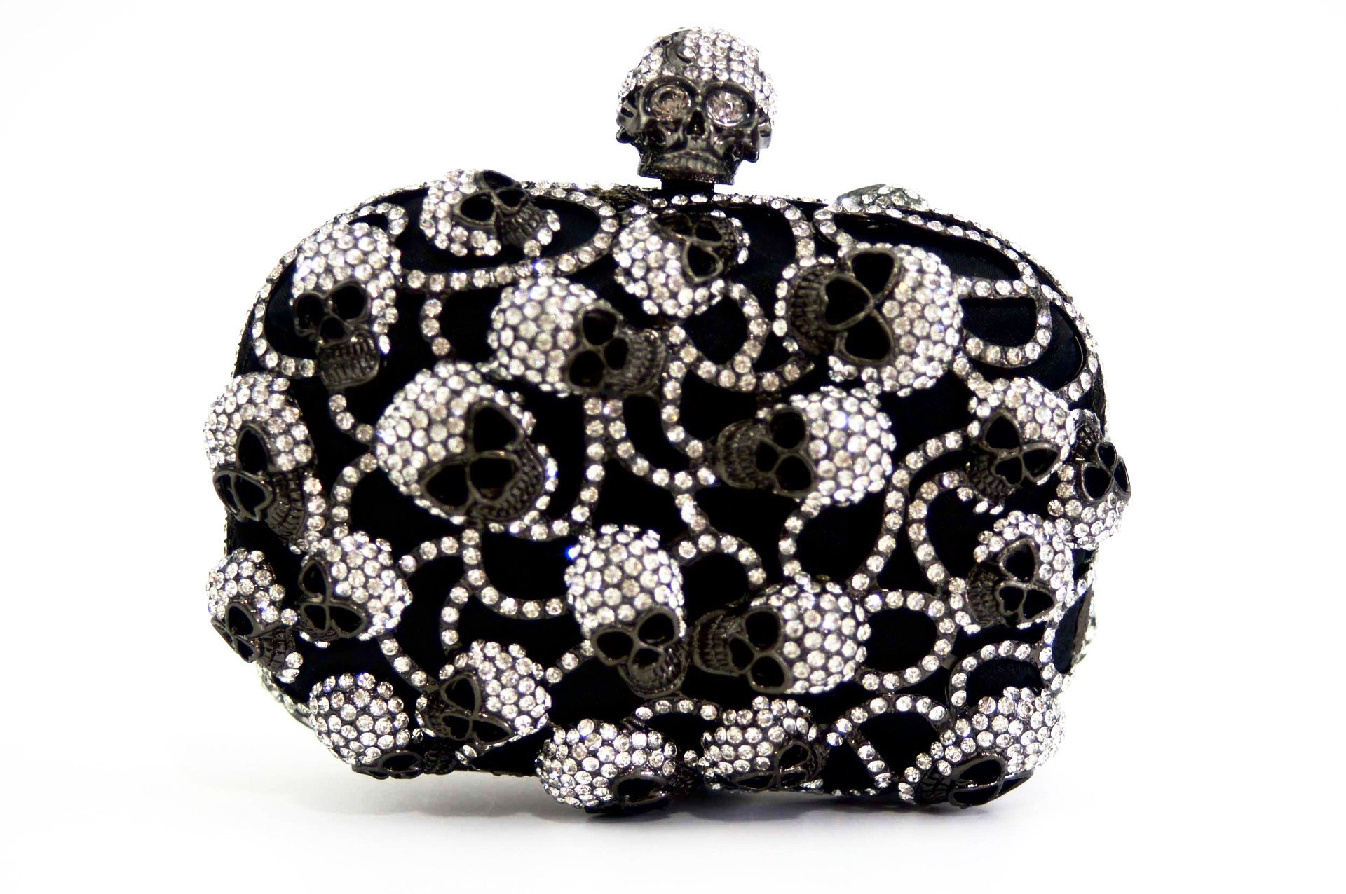 06dfc61b67 Luxury Rhinestone Encrusted Skull Evening from MILANBLOCKS