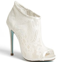 Blue by Betsey Johnson 'RSVP' Bootie