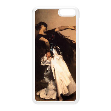 Spanish Dancer by John Singer Sargent White Hard Plastic Case for Amazon Fire Phone by Painting Masterpieces