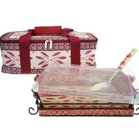 Temp-tations Old World Pack & Go Tote Set — QVC.com