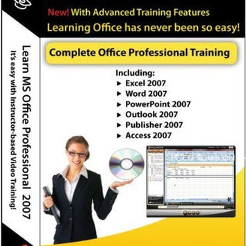 Microsoft Office 2007 Excel Word PowerPoint Outlook Publisher Access & Accoun...