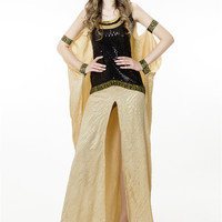 Halloween Ancient Egypt Great Egyptian Palace Cleopatra Queen Dress Cosplay Dancer Party Show Nightclub Costume Stage Wear