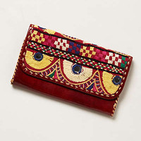 Majama Embroidered Wallet