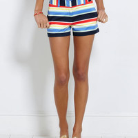 Womens Shorts: Curtain Bluff Striped Shorts for Women – Vineyard Vines