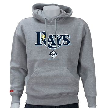 Stitches Tampa Bay Rays Pullover Fleece Hoodie - Men