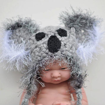 Crochet Baby Hats Baby Girl Hats Baby Boy Hats  by knoodleknits