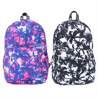 Women Men Canvas Backpack Bookbag Rucksack Travel School Shoulder Bag Satchel