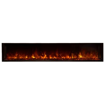 "Modern Flames 80"" Built-in Electric Fireplace (LFV8015-SH)"
