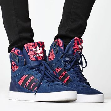 adidas Baroque Ornament Spectra High-Top Sneakers - Womens Shoes - Multi