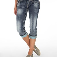 Miss Me Cross Stretch Cropped Jean