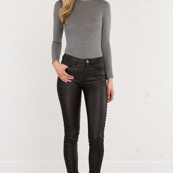 THE MOCK NECK KNIT BODYSUIT - What's New