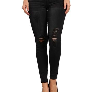 Celebrity Pink Jeans Pogues Mid Rise Skinny Jeans