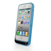 Slim External Rechargeable Backup Battery Charger Charging Case Cover for iPhone 5S 5C with Pop-Out Kickstand (2200mAh)