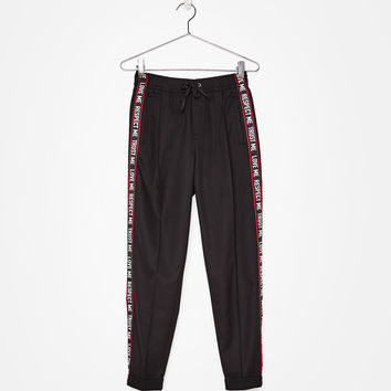 Tailored jogging pants - Pants - Bershka United States