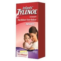 Tylenol Pain Reliever and Fever Reducer Grape Drops for Infants - 1 oz