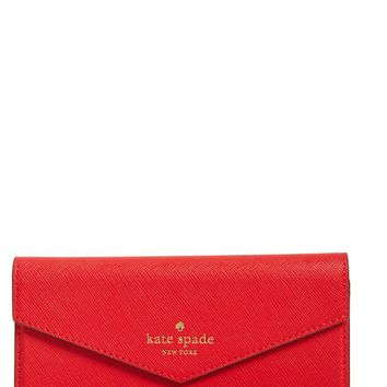 kate spade new york iPhone 7 leather wristlet | Nordstrom